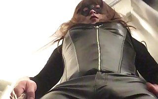 Leather Pants Tranny